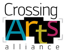 crossing arts alliance logo