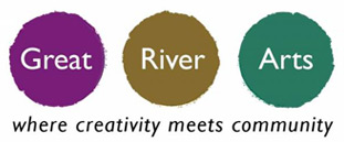 great river arts logo