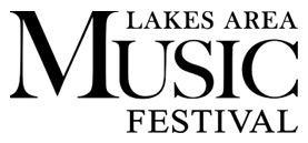 lakes area music festival logo