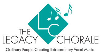 the legacy chorale logo